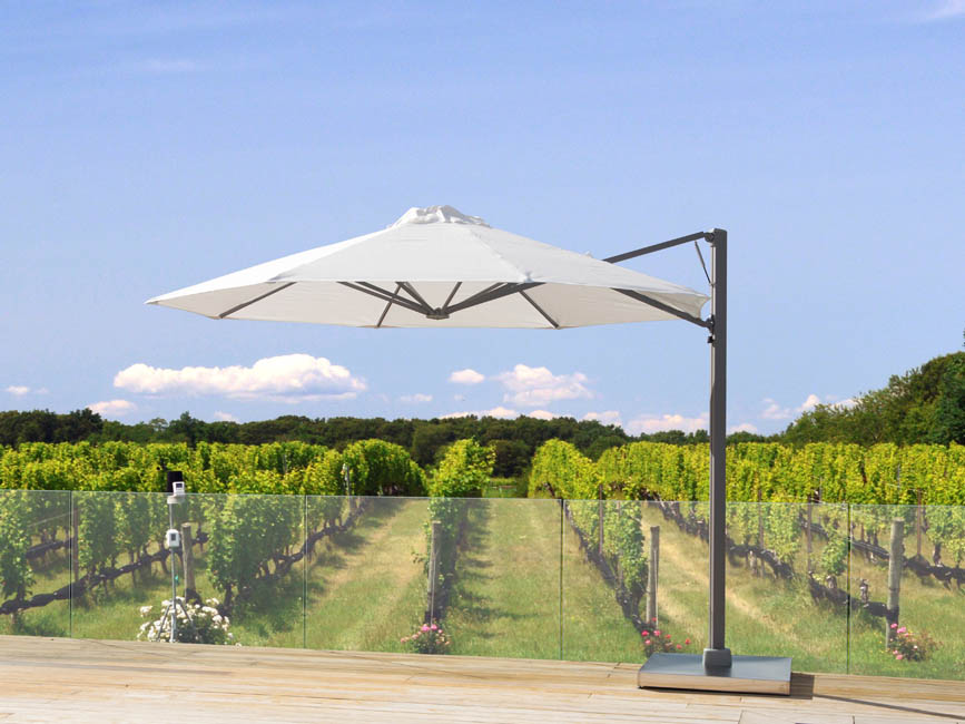 Rotating Cantilever Umbrellas