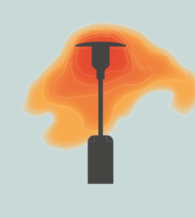 Gas Heater Illustration