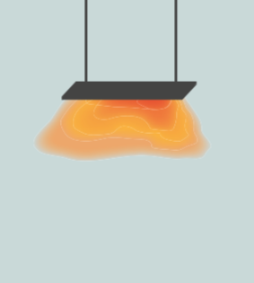 Far Infrared Heater Illustration
